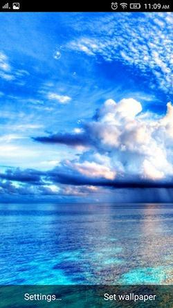 Sky And Sea QMobile NOIR A10 Wallpaper
