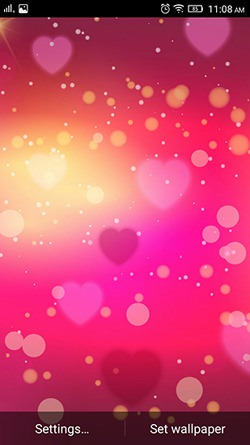 Is It Love QMobile NOIR A10 Wallpaper
