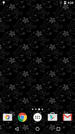 Black Patterns Android Mobile Phone Wallpaper