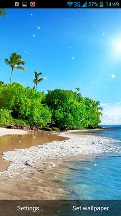 Beautiful Seascape QMobile NOIR A10 Wallpaper