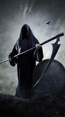 Grim Reaper Android Mobile Phone Wallpaper