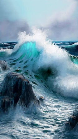 Download Free Android Wallpaper Ocean Waves