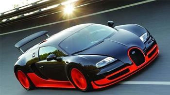 Bugatti Veyron 3D Android Mobile Phone Wallpaper