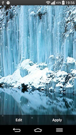 Download Free Android Wallpaper Frozen Waterfall - 3988