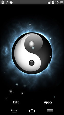 Yin Yang Android Mobile Phone Wallpaper