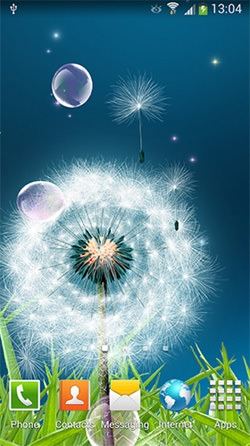Dandelions Android Mobile Phone Wallpaper