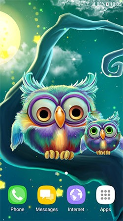 Download Free Android Wallpaper Cute Owls 4125