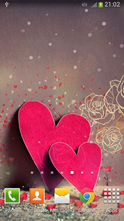 Valentines Day Android Mobile Phone Wallpaper