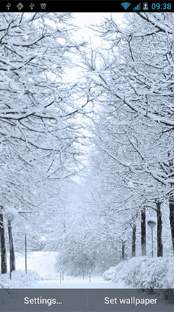 Winter Android Mobile Phone Wallpaper