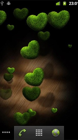 Hearts Android Mobile Phone Wallpaper