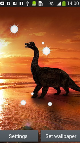 Dinosaur Android Mobile Phone Wallpaper