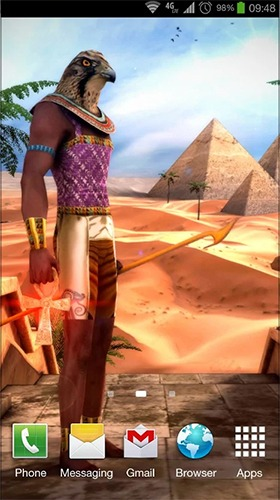 Egypt 3D Android Mobile Phone Wallpaper