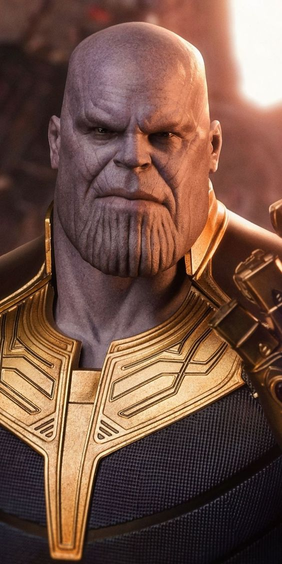 Thanos Android Mobile Phone Wallpaper