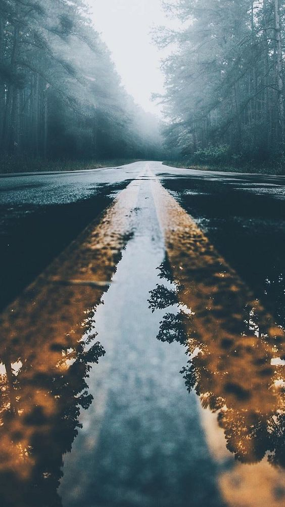 Road Android Mobile Phone Wallpaper