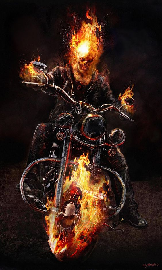 Ghost Rider Android Mobile Phone Wallpaper