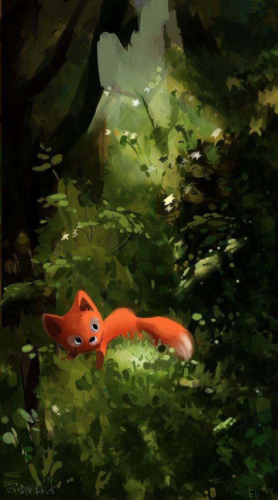 Fox Android Mobile Phone Wallpaper