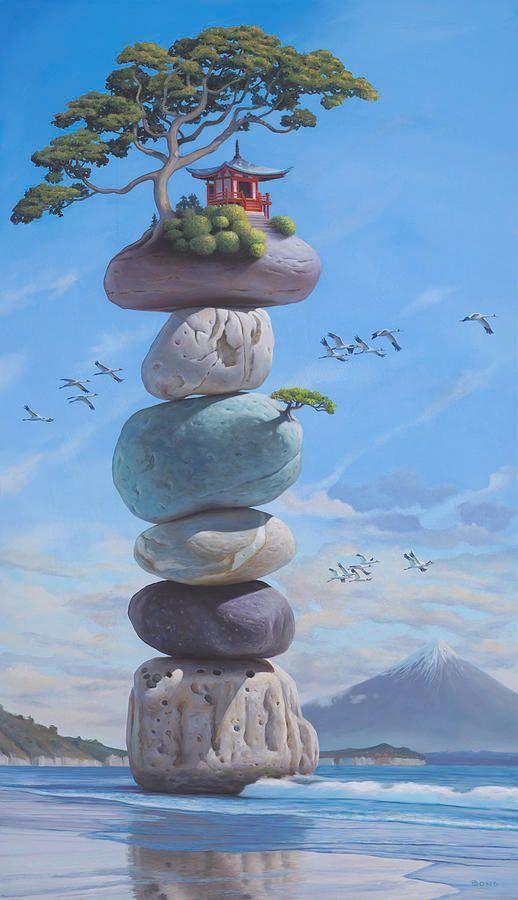 Home On Rocks
