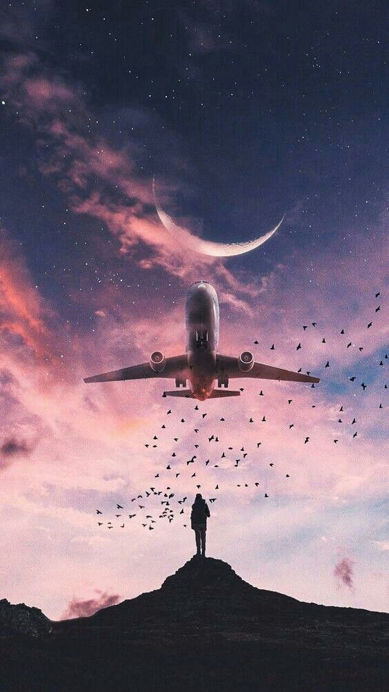 Airplane Android Mobile Phone Wallpaper