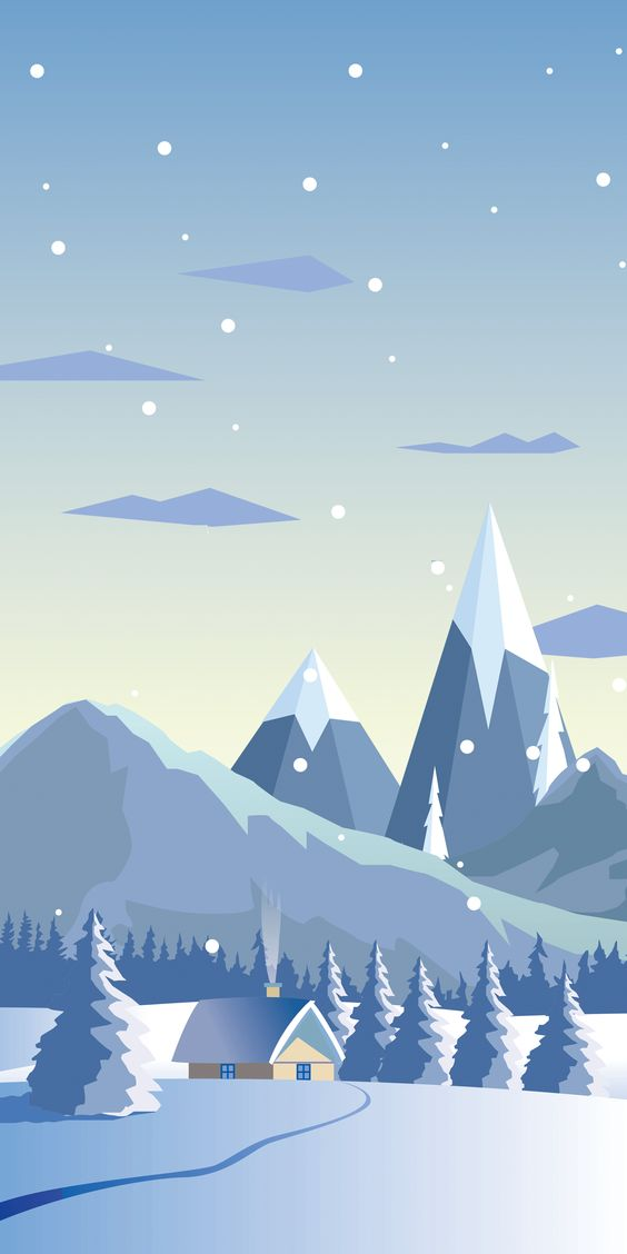 Snow Android Mobile Phone Wallpaper