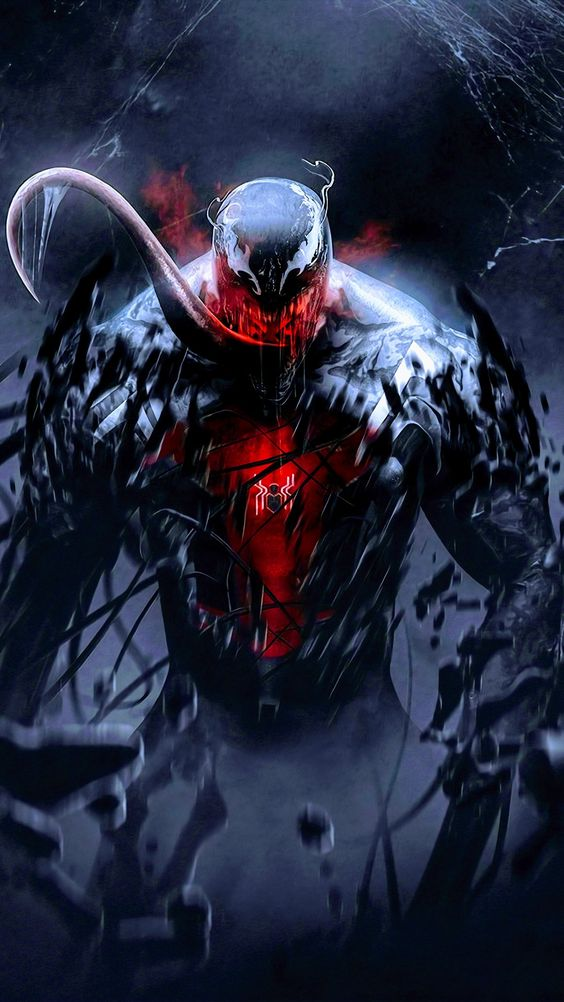 Venom Android Mobile Phone Wallpaper