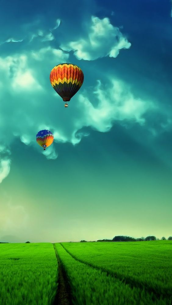 Air Balloon Android Mobile Phone Wallpaper