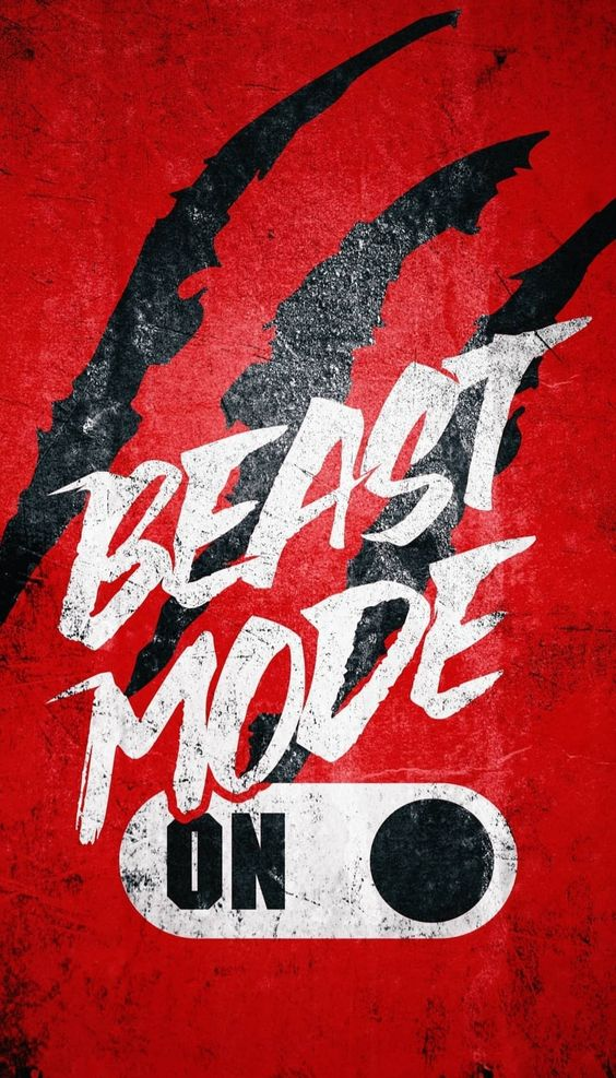 Beast Mode Android Mobile Phone Wallpaper