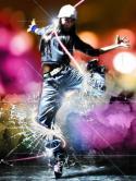 Break Dancer QMobile Hero One Wallpaper