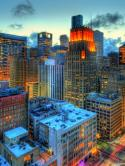 City Nokia C5 5MP Wallpaper