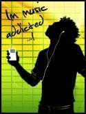 Music Addicted QMobile Hero One Wallpaper