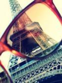 Paris Behind  Mobile Phone Wallpaper