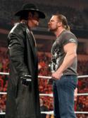 Undertaker Vs HHH  Mobile Phone Wallpaper