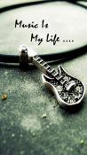 Music Is My Life  Mobile Phone Wallpaper