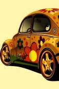 Beetle Hippi  Mobile Phone Wallpaper