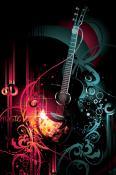 Guitar  Mobile Phone Wallpaper