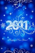 Happy New Year  Mobile Phone Wallpaper