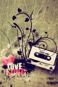Love Music  Mobile Phone Wallpaper