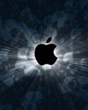 Apple Mc Black Motorola WX306 Wallpaper
