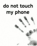 Donot Touch  Mobile Phone Wallpaper