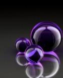 Purple Sphere  Mobile Phone Wallpaper