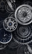 Black Clock Android Mobile Phone Wallpaper