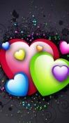 Love Hearts Nokia 5800 Navigation Edition Wallpaper