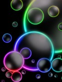 Bubbles QMobile E750 Wallpaper