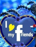 I Love My Friends mobile Mobile Phone Wallpaper