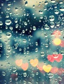 Rain Drops QMobile E750 Wallpaper