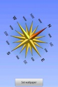 Compass Wallpaper for Android Mobile Phone