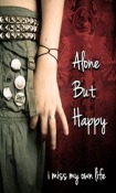 Alone But Happy Wallpaper for  Mobile Phone