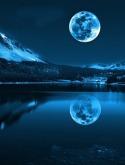 Blue Moon  Mobile Phone Wallpaper