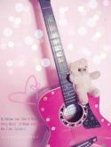 Lovely Guitar QMobile Hero One Wallpaper