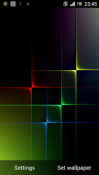 Nexus Neon Grid HD Wallpaper for Android Mobile Phone