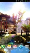 Oriental Garden 3D Android Mobile Phone Wallpaper